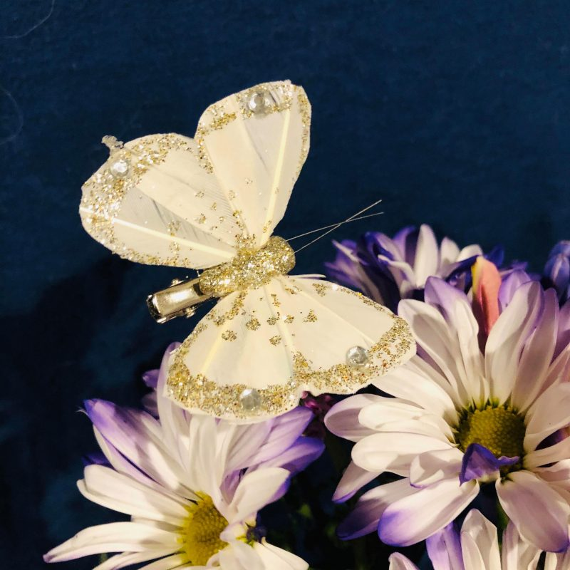 Butterfly - White
