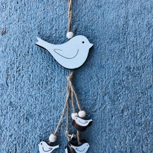 Wood Wind Chime – Bird