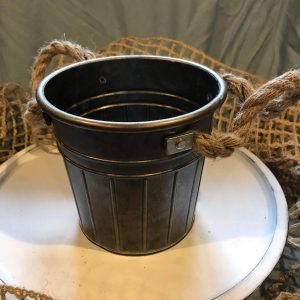 Bucket with Rope Handles
