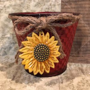 Sunflower Bucket