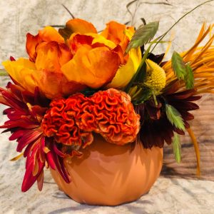Small Pumpkin Vase