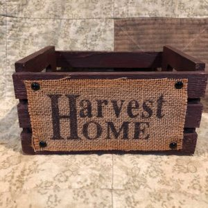 Harvest Home Crate