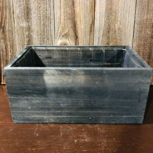 Grey Wooden Box