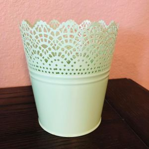 Mint Green Lace Bucket