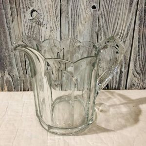 Large Glass Water Pitcher